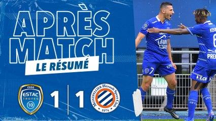 ESTAC 1-1 Montpellier   Résumé du match