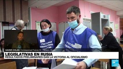 Informe desde Moscú: resultados preliminares dan la victoria al oficialismo