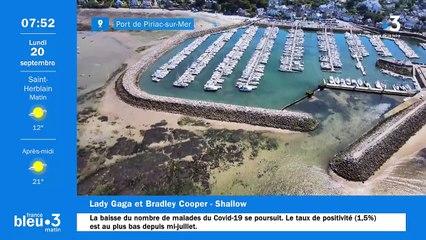 20/09/2021 - Le 6/9 de France Bleu Loire Océan en vidéo