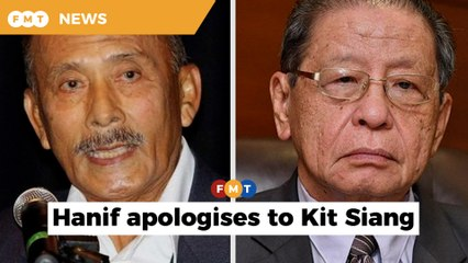 Ex-IGP apologises, retracts statement made against Kit Siang over 'dividing' country comment