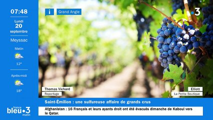 20/09/2021 - Le 6/9 de France Bleu Limousin en vidéo
