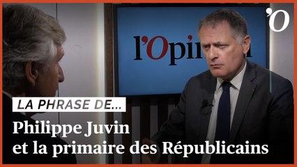 Présidentielle: «Après la primaire, nous devrons avoir un accord avec ceux qui n'y ont pas participé», assure Philippe Juvin