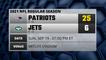 Patriots @ Jets Game Recap for SUN, SEP 19 - 01:00 PM ET