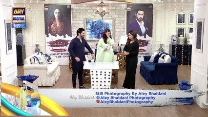 Good Morning Pakistan - New Drama Serial 'Baddua' Cast Special - 20th September 2021 - ARY Digital