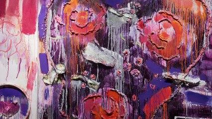 Joan Snyder: Silk & Song / Galerie Haas Zürich