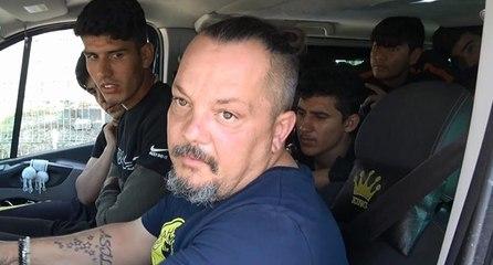 Kaçak göçmen taşıyan sürücü: Kişi başı 150 TL