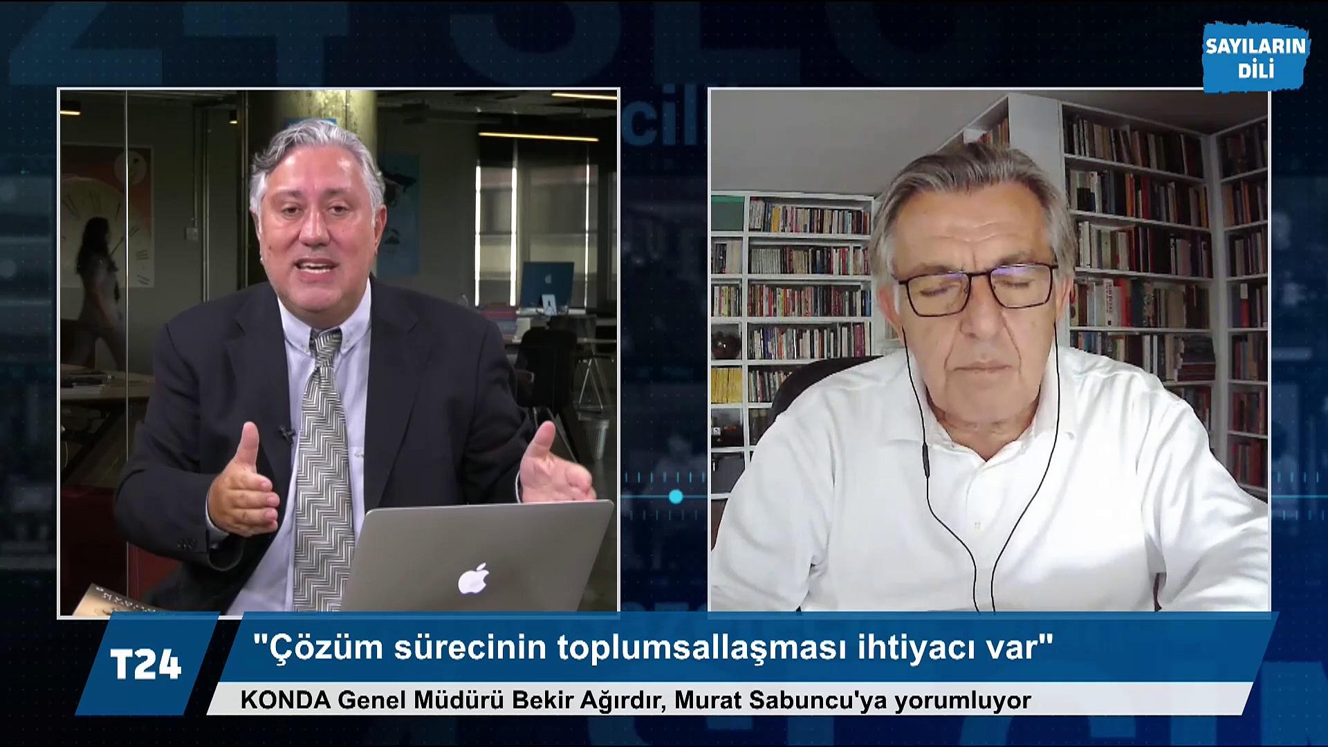 Bekir Ağırdır: HDP'li Temelli'nin 'Muhatap İmralı' açıklaması talihsiz; 'Ak yakalılar' da gidişin ne olduğunu gözlüyor, çıkış arıyor