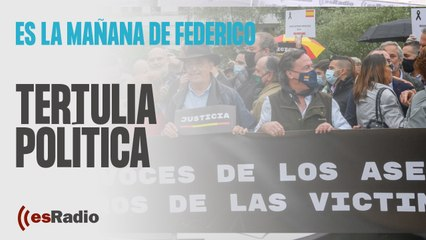 Tertulia de Federico: La dignidad de las víctimas que no ceden a las amenazas de los proetarras
