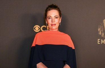 Olivia Colman and Josh O'Connor stunned by Emmy Award wins