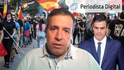 """Benjamín López: """"Al Gobierno le interesaba la mamarrachada de manifestación neonazi como cortina de humo"""""""