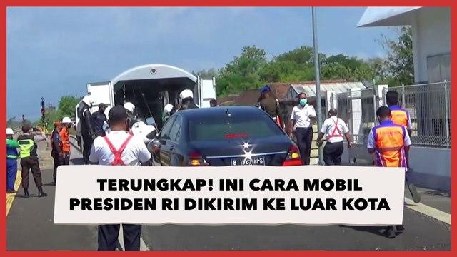 Terungkap! Ini Cara Mobil Presiden RI Dikirim ke Luar Kota