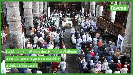 Hommage a Julos Beaucarne à Namur