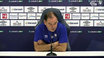 J9 Ligue 2 BKT : La conférence de presse avant SMCaen / Dijon FCO
