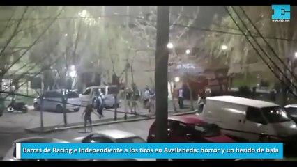 Barras de Racing e Independiente
