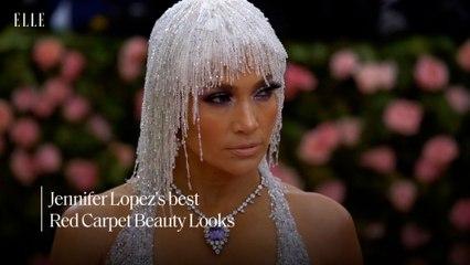 Jennifer Lopez's best red carpet beauty looks