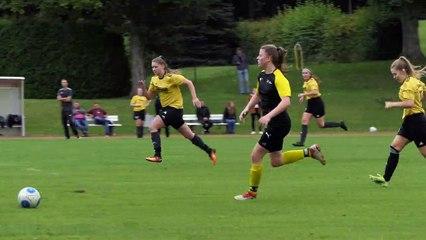 Das 1:1 für den Bovender SV durch Jannika Lutze im Spiel gegen den Dransfelder SC