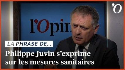 «Il faut garder le masque tant que le virus circule», explique Philippe Juvin (LR)