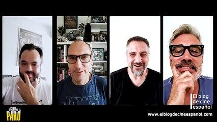 """Entrevista con David Marqués, Adriá Collado y Eric Francés, director y actores de la película """"El club del paro""""."""