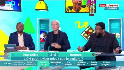 L'Olympique de Marseille peut-il viser encore plus haut que le podium ? - L'Équipe de Greg - extrait
