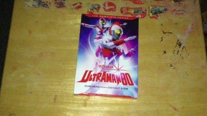 Ultraman Series 9: Ultraman 80 DVD Unboxing
