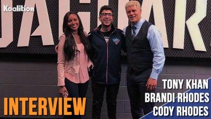 Cody Rhodes, Brandi Rhodes & Tony Talk The Creation Of AEW & Rhodes To The Top