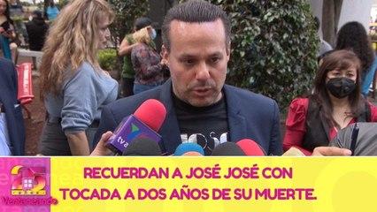Recuerdan a José José con tocada a dos años de su muerte.   20 de septiembre 2021   Ventaneando
