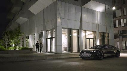 Der Audi grandsphere concept - Schnelles Laden, hohe Reichweite