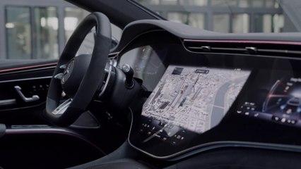 Der neue Mercedes-AMG EQS 53 4MATIC+ - Interieur-Design mit besonders sportlicher Note