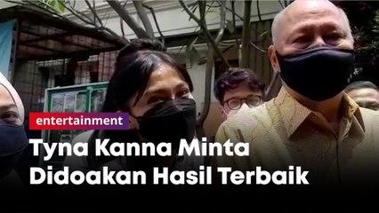 Tak Mau Jawab Isu Perselingkuhan, Tyna Kanna Minta Didoakan Hasil Terbaik Untuk Prahara Rumah Tangganya