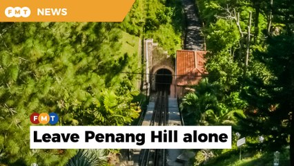 Penang's insistence of proceeding with cable car project at Penang Hill draws ire of NGOs