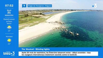 21/09/2021 - Le 6/9 de France Bleu Breizh Izel en vidéo