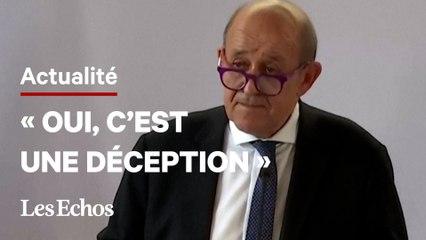 Sous-marins : Jean-Yves le Drian évoque «la rupture de confiance entre alliés»