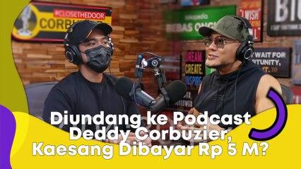 Diundang ke Podcast Deddy Corbuzier, Kaesang Pangarep Dibayar Rp 5 M?