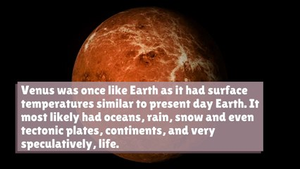 Climate Change Made Venus Uninhabitable