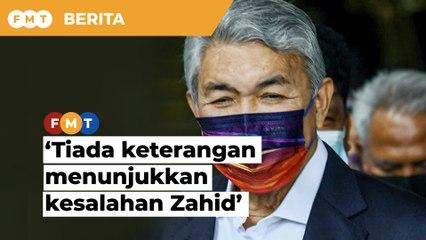 Tiada keterangan menunjukkan kesalahan Zahid, mahkamah diberitahu