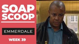 Emmerdale Soap Scoop! Al blackmails Paddy