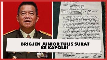 Bela Rakyat Miskin yang Tanahnya Dirampas, Brigjen Junior Tulis Surat ke Kapolri