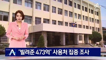 '빌려준 473억' 사용처 조사…'화천대유 자금' 수사 속도