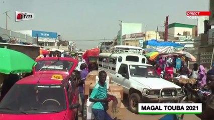 Plateau Magal Touba 2021 - JT wolof avec Fatou Kiné Deme - 21 Septembre
