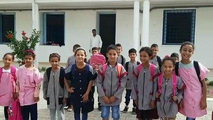 Remerciements écoles Tamazeghrane-Al Haouaria