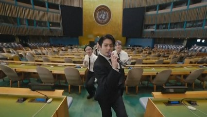 K-Pop-Band BTS tritt vor UN-Generalversammlung auf