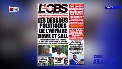 Revue de presse de ce 21 Septembre 2021 avec Mamadou Mouhamed Ndiaye