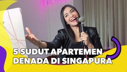 5 Sudut Apartemen Denada di Singapura, Jauh dari Kemewahan