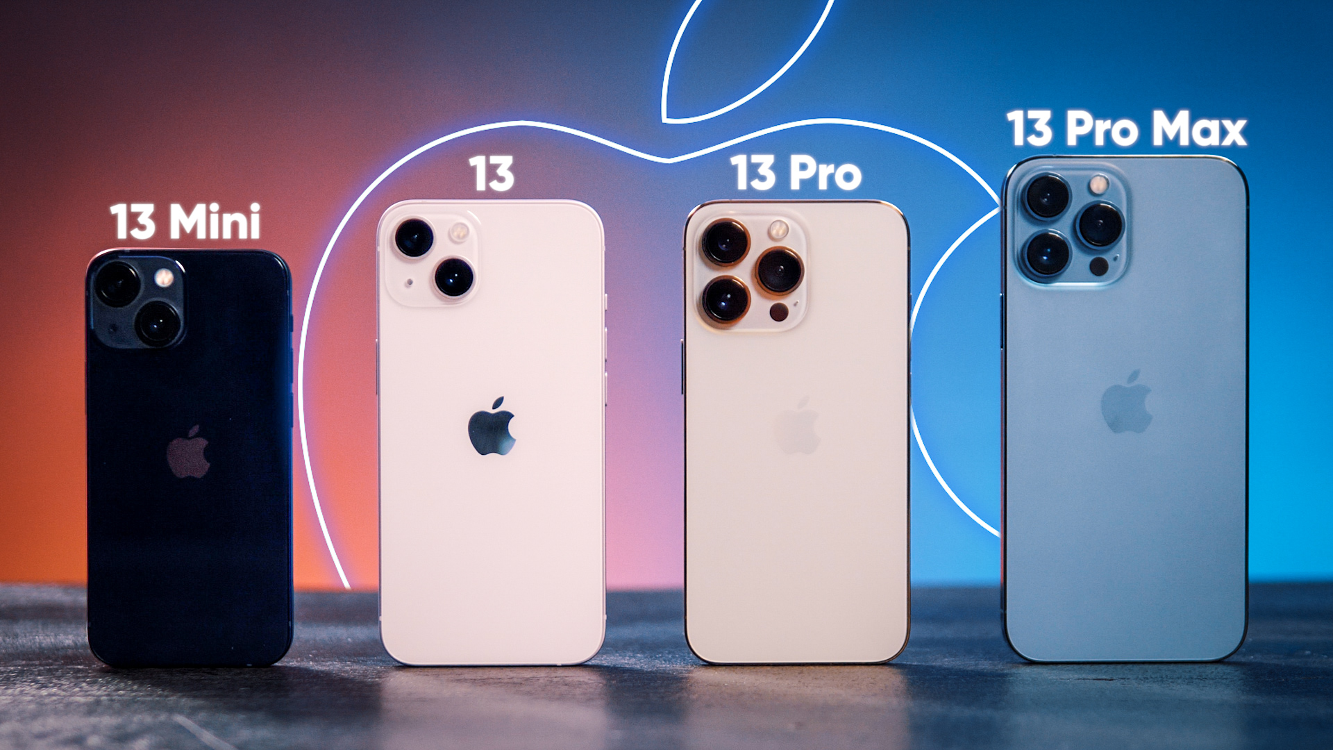 On a reçu TOUS LES iPHONE 13 (iPhone 13, iPhone 13 Mini, iPhone 13 Pro, iPhone 13 Pro Max)