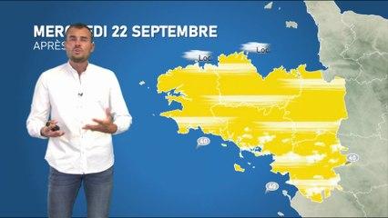 Illustration de l'actualité La météo de votre mercredi 22 septembre 2021