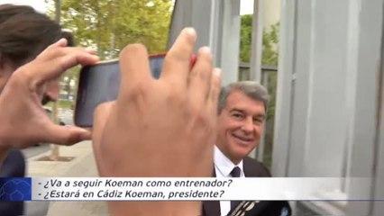 Koeman sigue al frente del Barça