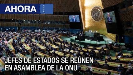 Primer día de debate de la Asamblea General de la ONU - #21Jun - Ahora