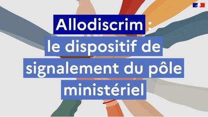 Allodiscrim : le dispositif de signalement du pôle ministériel