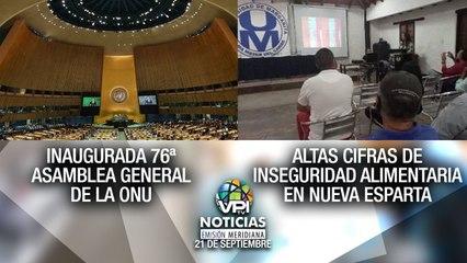 Noticias VPItv Emisión Meridiana - Martes 21 de Septiembre