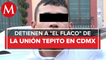 Cae presunto extorsionador de choferes en CdMx; es cercano a 'El Chori', de La Unión Tepito